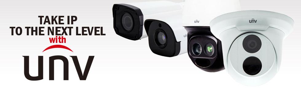 Uniview CCTV Distributor UK and Ireland - UNV IP CCTV